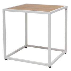Table basse type industriel achat vente table basse for Table carree style industriel