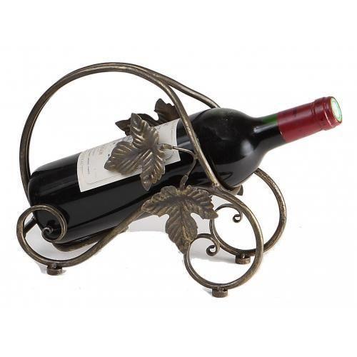 Porte bouteille en m tal m tal cuivr cm achat vente porte bo - Porte bouteille alcool ...