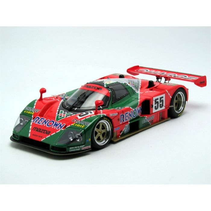 autoart 1 18 mazda 787b renown winner le mans 19 achat vente voiture construire cdiscount. Black Bedroom Furniture Sets. Home Design Ideas