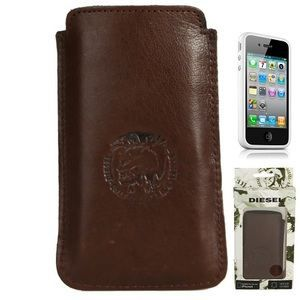 Housse iphone 4 4s etui cuir marron diesel x008 achat for Housse ipad 4