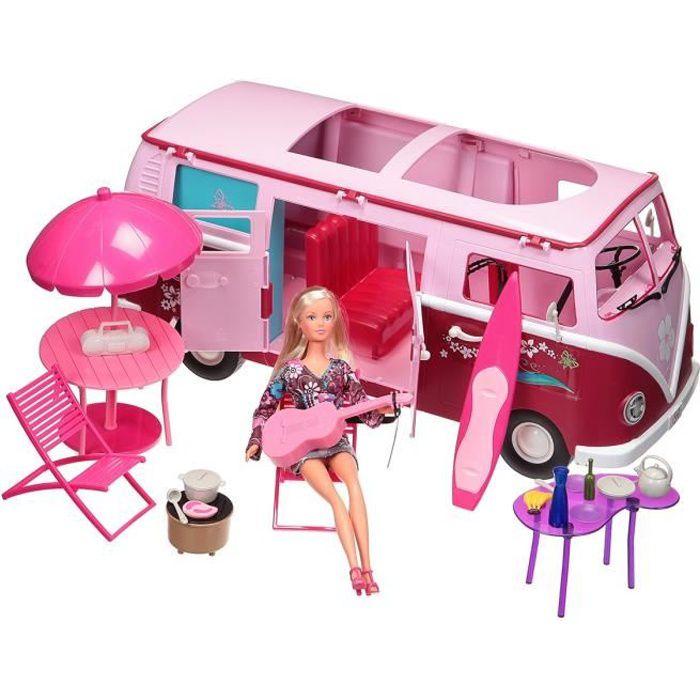 camping car barbie. Black Bedroom Furniture Sets. Home Design Ideas