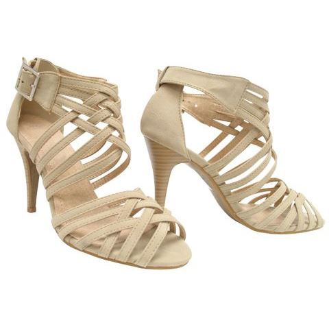 sandales talons hauts beige gold sandals heels. Black Bedroom Furniture Sets. Home Design Ideas