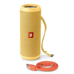 JBL Flip 3 - Enceinte Bluetooth 4.1 - Puissance 16W - Autonomie de 10h - Résistante aux éclaboussures - Couleur Jaune