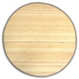 tapis bambou rond achat vente tapis bambou rond pas cher cdiscount. Black Bedroom Furniture Sets. Home Design Ideas