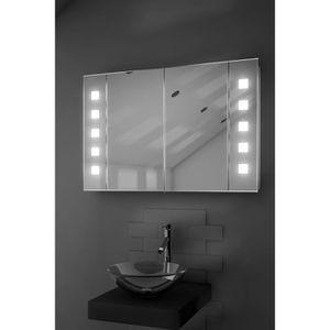 miroir avec prise rasoir achat vente miroir avec prise. Black Bedroom Furniture Sets. Home Design Ideas