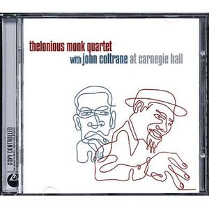 Live at Carnegie hall by Thelonious Monk   John…