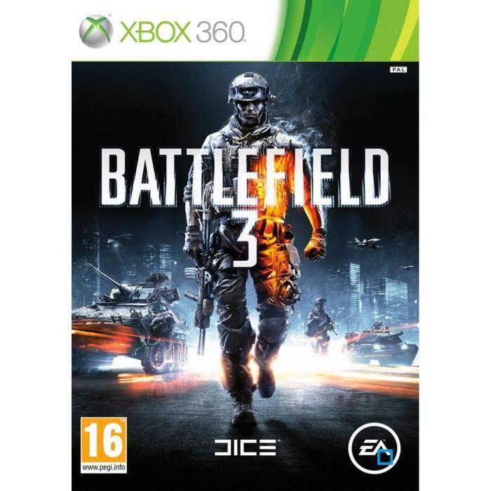 JEUX XBOX 360 Battlefield 3 Jeu XBOX 360