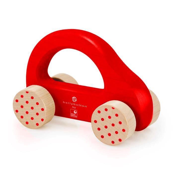 voiture pousser en bois petite voiture rapide rouge achat vente circuit cdiscount. Black Bedroom Furniture Sets. Home Design Ideas