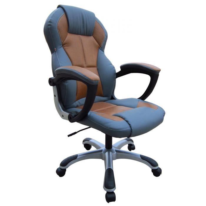 Fauteuil de bureau le mans bi ton achat vente chaise - Fauteuil bureau soldes ...