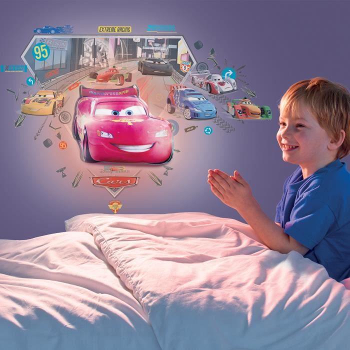 Disney cars lampe veilleuse et stickers achat vente for Chambre enfant cars