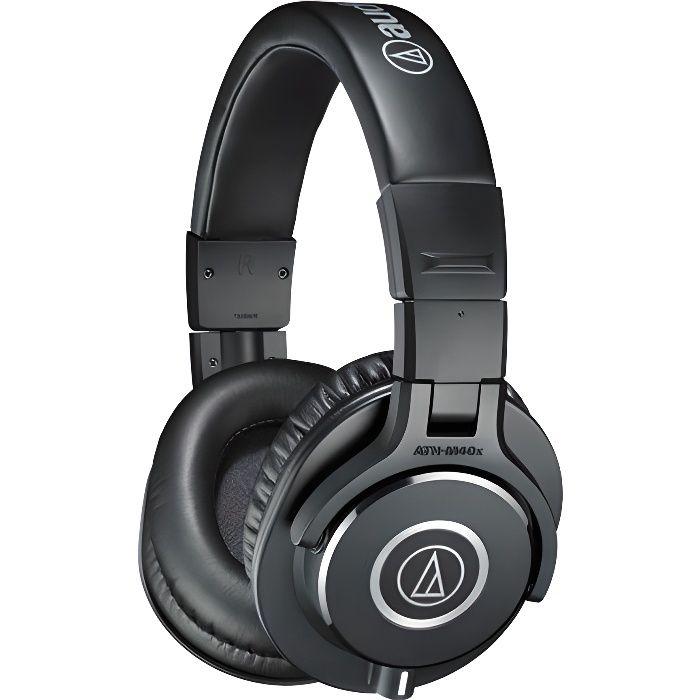 audio technica ath m40x casque studio casque couteur avis et prix pas cher cdiscount. Black Bedroom Furniture Sets. Home Design Ideas