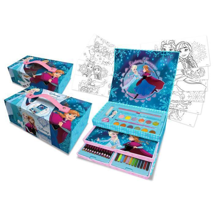 La reine des neiges coffret de coloriage tiroirs deluxe - Jeu reine des neige gratuit ...