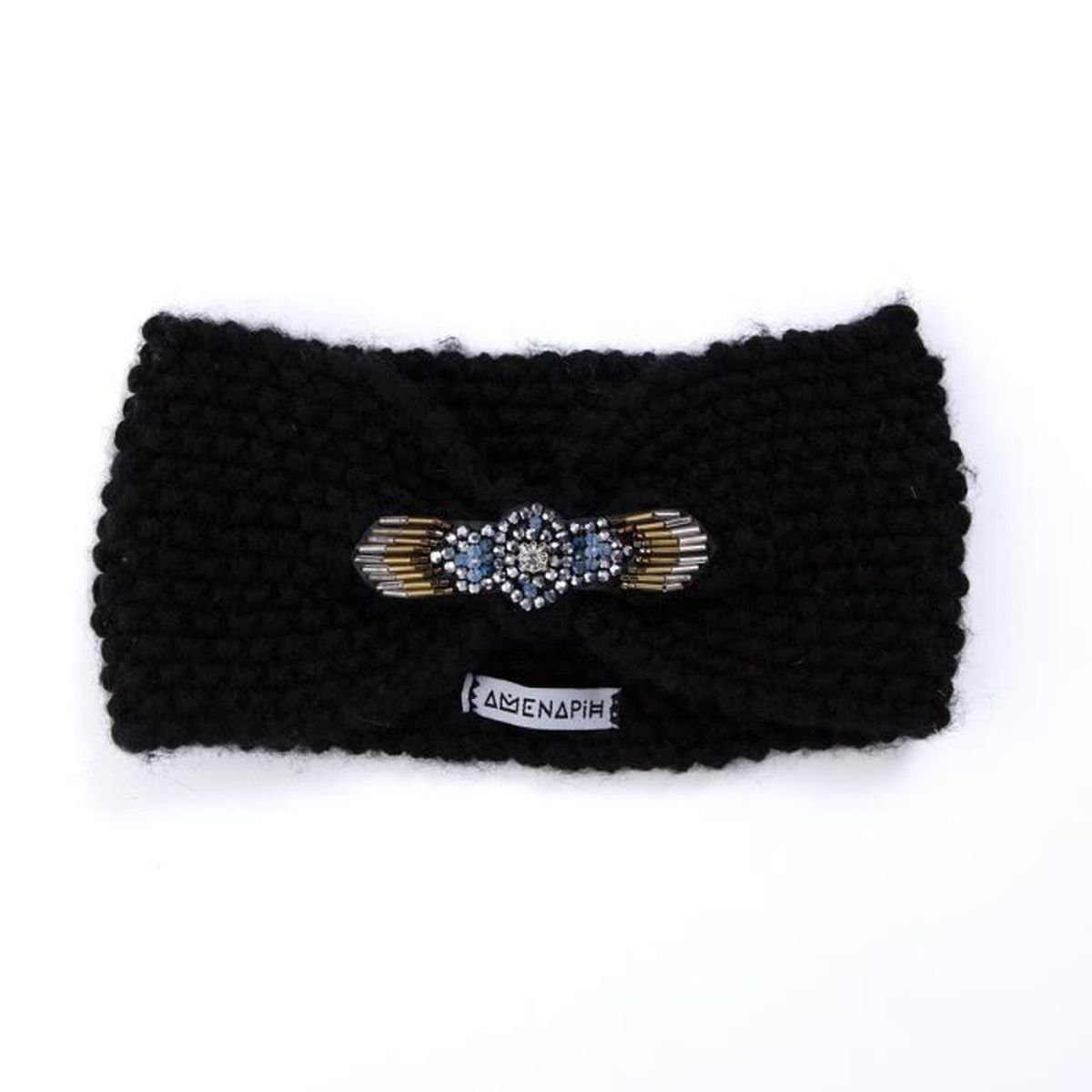 headband foxy noir amenapih by hipanema achat vente bandeau serre t te headband foxy noir. Black Bedroom Furniture Sets. Home Design Ideas