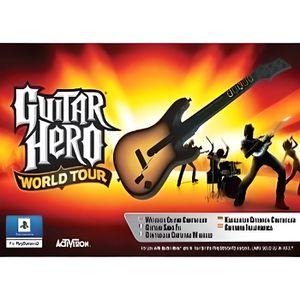 JEU PS2 Guitar Hero World Tour