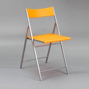 CHAISE Chaise pvc finition pliable Orange