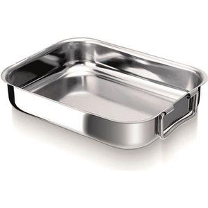 Plat four inox rectangulaire les ustensiles de cuisine for Plat cuisine inox