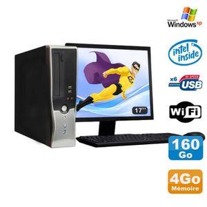 UNITÉ CENTRALE + ÉCRAN Lot PC Nec VL280 DT Dual Core E2160 DVD Ram 4Go Di