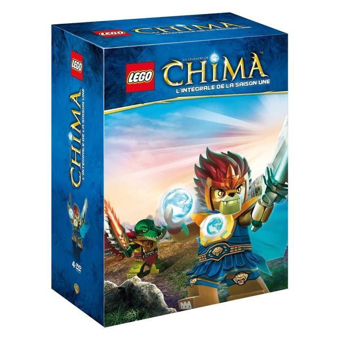 Dvd lego les l gendes de chima saison 1 coffret dvd - Lego chima saison 2 ...
