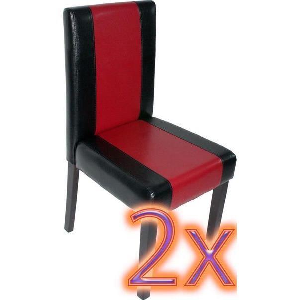 Chaise de salle manger lot de 2 parma achat vente for Chaise de salle a manger confortable