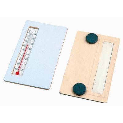 thermometre en bois a decorer lot de 5 achat vente support d corer thermometre en bois a. Black Bedroom Furniture Sets. Home Design Ideas