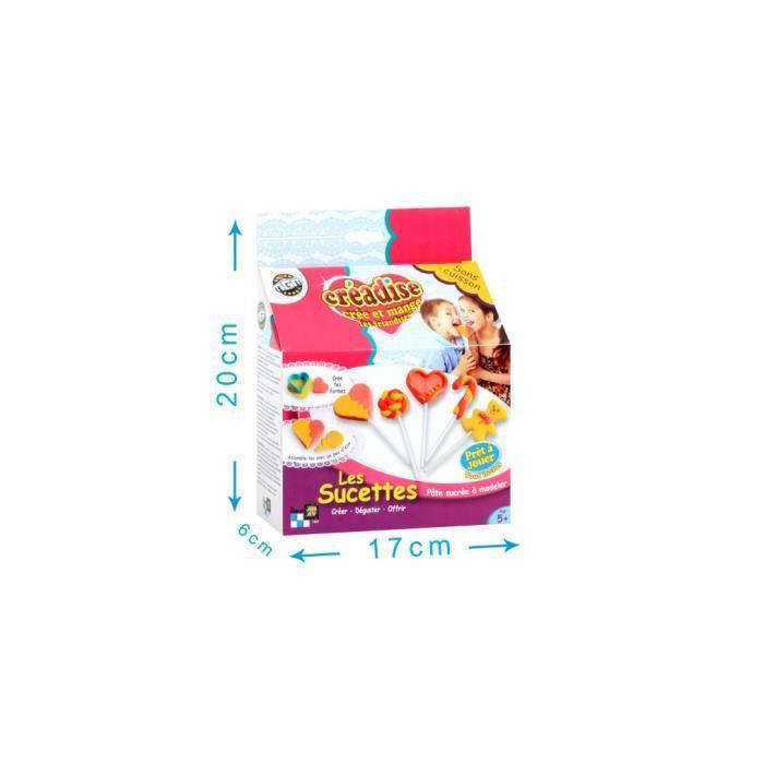 Creadise coffret sucettes p te sucre achat vente kit de cuisine cr ative creadise coffret - Coffret cuisine creative ...