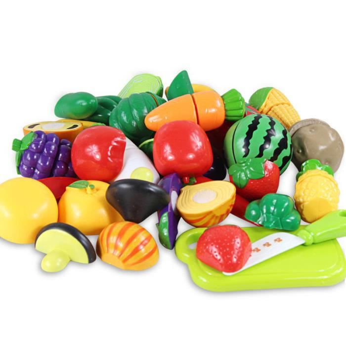enfants de coupe de fruits jouet playset pr tendent ensemble cuisine jouet achat vente. Black Bedroom Furniture Sets. Home Design Ideas
