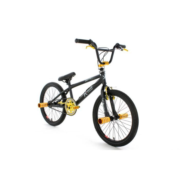 bmx freestyle 20 39 xaxxion or ks cycling prix pas cher soldes d t cdiscount. Black Bedroom Furniture Sets. Home Design Ideas