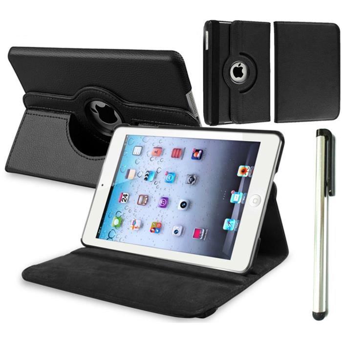 rotatif pochette housse pour ipad air 2 ipad 6 achat. Black Bedroom Furniture Sets. Home Design Ideas