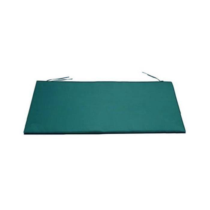 Coussin vert pour banc marlborough 167 cm achat vente - Coussin pour banquette exterieur ...