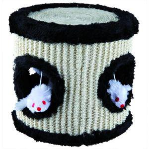 TRIXIE Tambour de jeu sisal peluche 17 × 17 cm pour chat