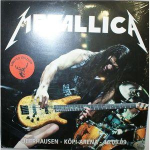 VINYLE VARIÉTÉ INTERN. Vinyl Metallica oberhausen kopi arena 16/05/2009