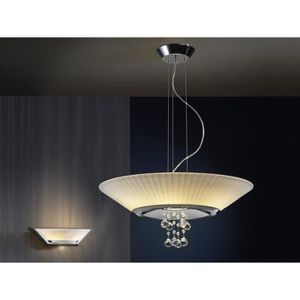Lampes contemporaines: modèle ANDROS. - pendentif ANDROS chrome ...