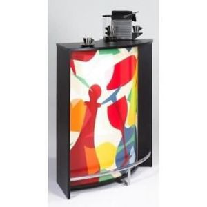 Meuble cuisine haut en verre achat vente meuble for Comptoir cuisine pas cher