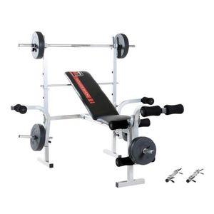 BANC DE MUSCULATION Banc de Musculation multifonction Bermuda 45042+ 2