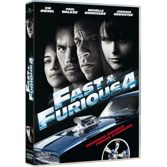 dvd fast and furious 4 en dvd film pas cher lin justin cdiscount. Black Bedroom Furniture Sets. Home Design Ideas