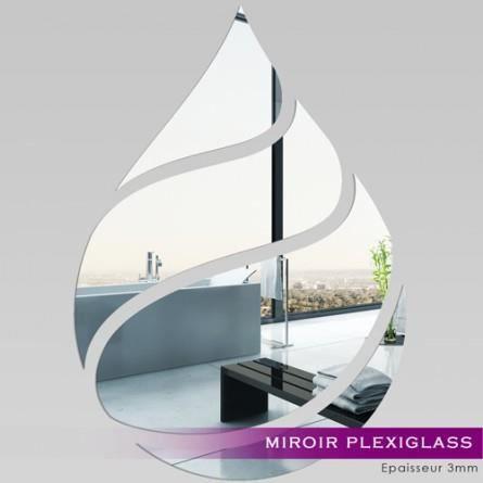 Miroir d coratif qui s 39 applique sur toutes surfaces lisses for Miroir qui s ouvre