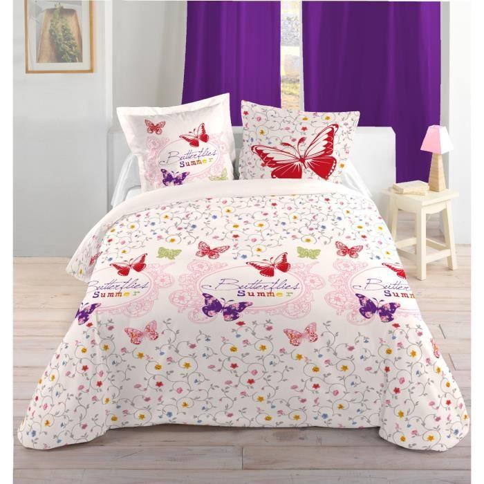 linge de lit parure de drap lovely casa hp36755001 achat vente parure de drap soldes d. Black Bedroom Furniture Sets. Home Design Ideas