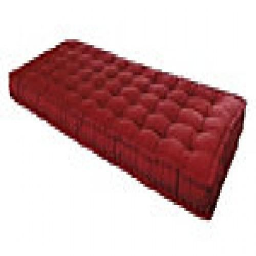 matelas futon rouge 90 x 190 cm achat vente matelas cdiscount. Black Bedroom Furniture Sets. Home Design Ideas