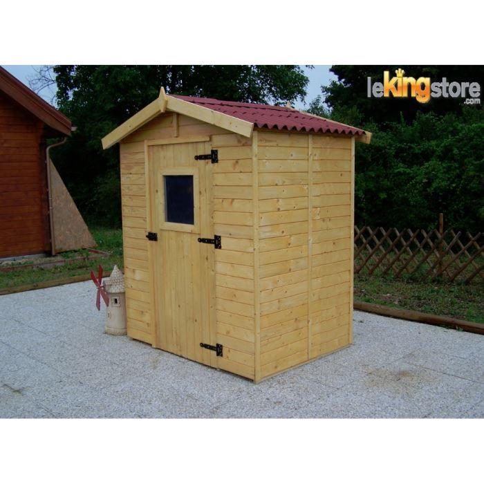 Abri de jardin en bois m avec plancher eden achat vente abri jardin chalet abri de for Abri de jardin en bois destockage