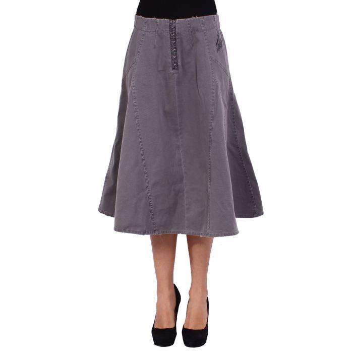 desigual jupe femme taupe achat vente jupe kilt. Black Bedroom Furniture Sets. Home Design Ideas