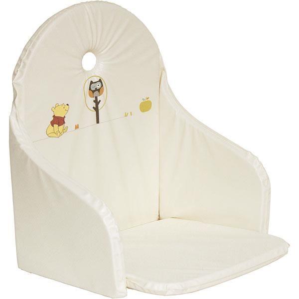 Coussin de chaise haute winnie woodland achat vente for Coussin de chaise haute