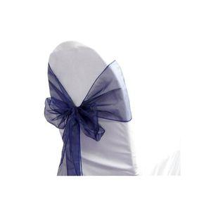 Noeud de chaise bleu achat vente noeud de chaise bleu - Noeud de chaise organza pas cher ...