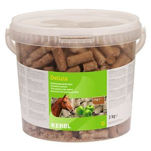 FRIANDISE KERBL Friandises Delizia pomme pour chevaux - 3kg