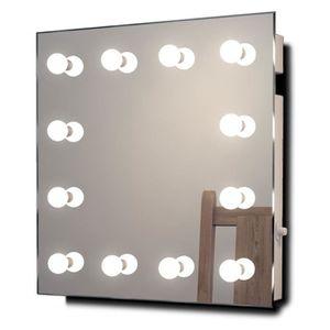 miroir de maquillage hollywood achat vente miroir de. Black Bedroom Furniture Sets. Home Design Ideas