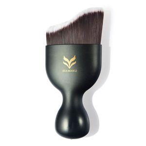 PINCEAUX DE MAQUILLAGE Brosse à Maquillage Ondulée Professional BB CC Cre