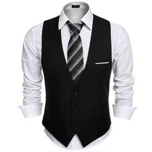 gilet costume homme achat vente gilet costume homme pas cher les soldes sur cdiscount. Black Bedroom Furniture Sets. Home Design Ideas