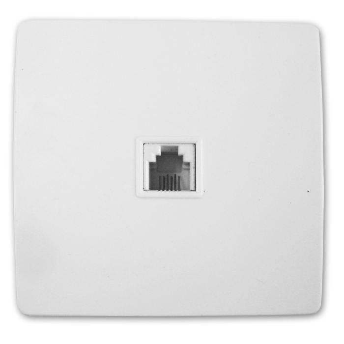 prise tel rj 45 vis griffes diwone blanc achat vente prise programmateur cdiscount. Black Bedroom Furniture Sets. Home Design Ideas