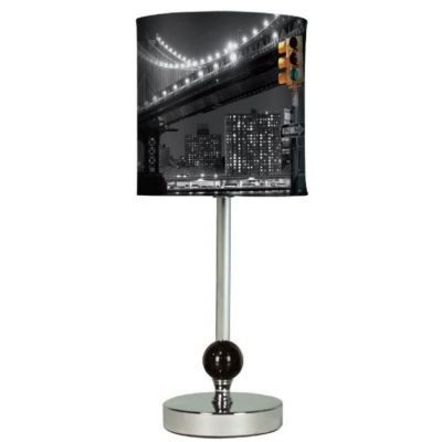 Lampe pont new york achat vente lampe a poser lampe pont new york cdisc - Lampe de bureau new york ...
