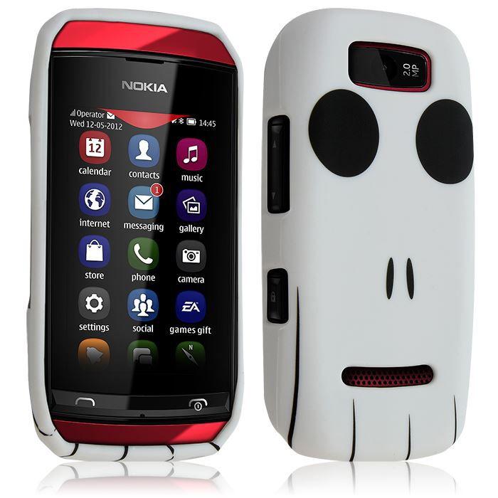 Housse Coque pour Nokia Asha 305 avec motif KJ15Idéal pour une