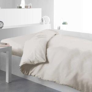 housse de couette couleur ivoire achat vente housse de couette couleur ivoire pas cher. Black Bedroom Furniture Sets. Home Design Ideas